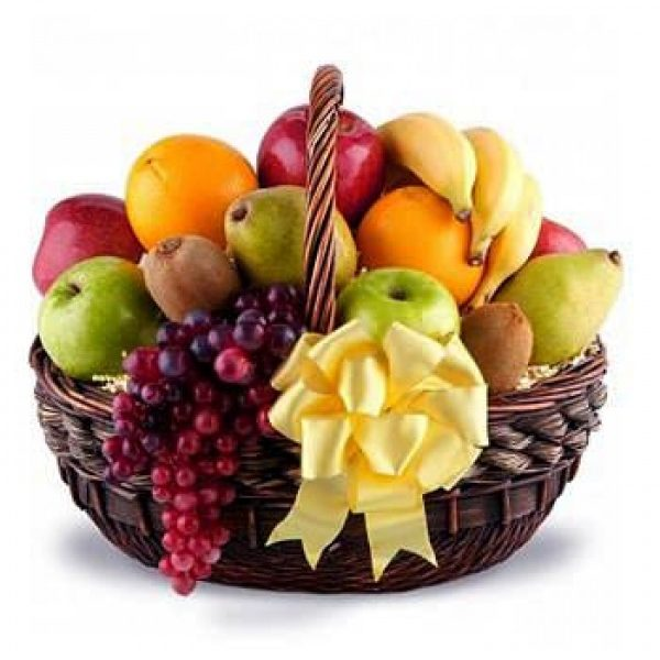 Big basket of fruits