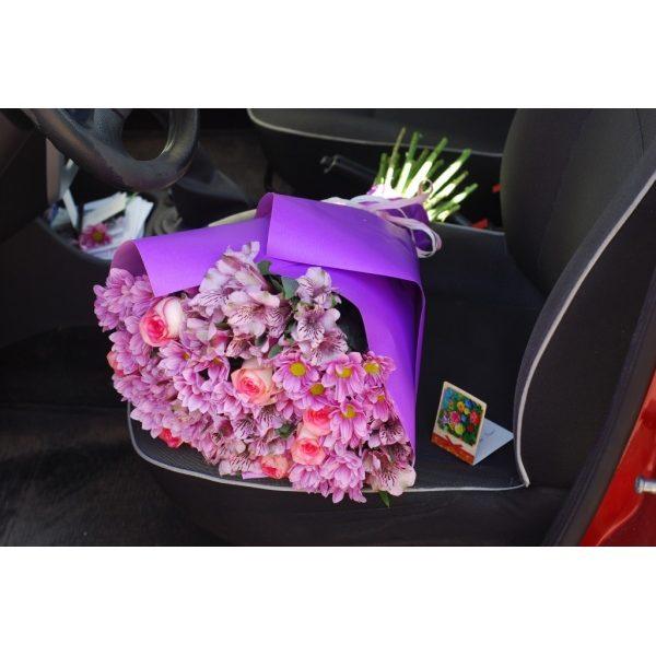 Рожево-фіолетовий