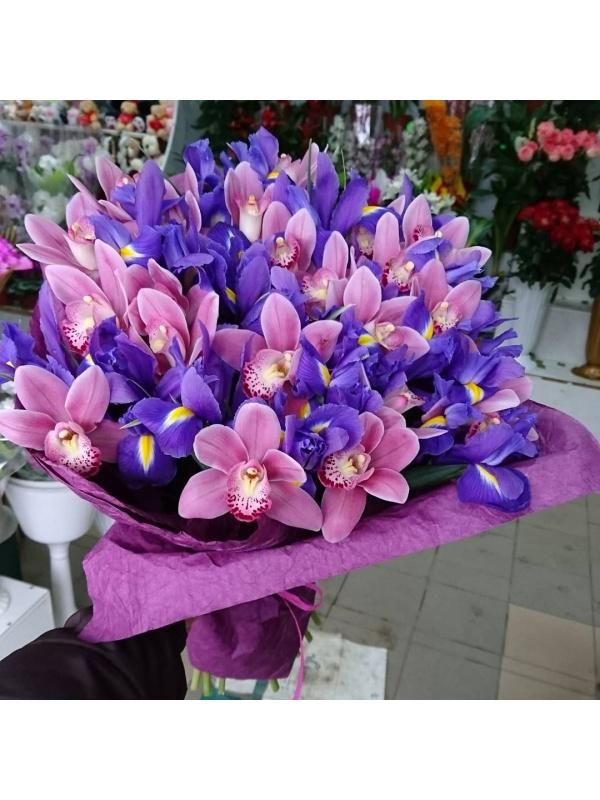 Весенние орхидеи