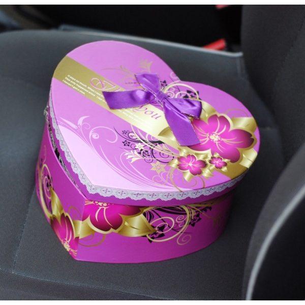 Фіолетова коробка