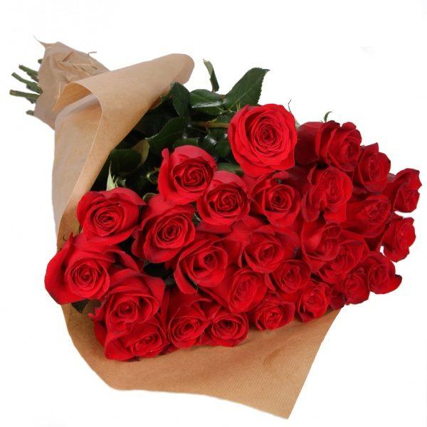 25 червоних троянд (імпорт)